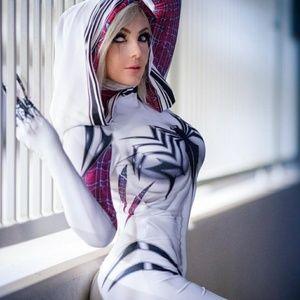 Official Spider Gwenom Suit Medium 6/8